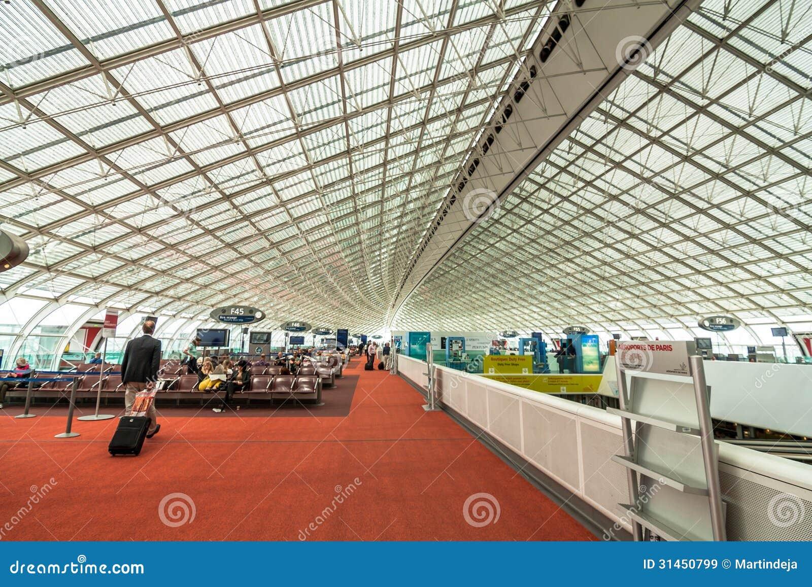 ... 夏尔・戴高乐机场 编辑类库存图片 - 图片: 31450799