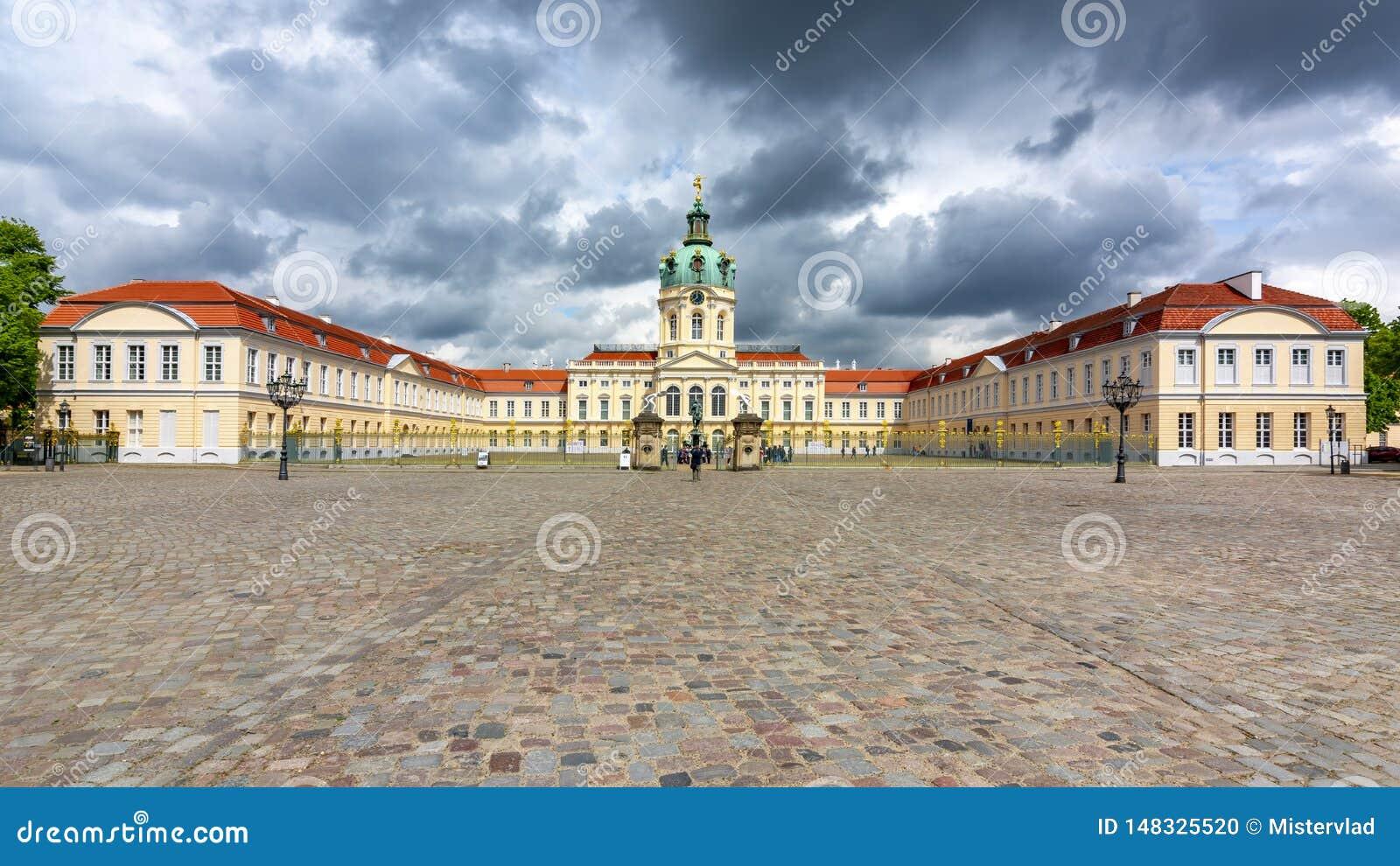 夏洛特堡宫在柏林,德国