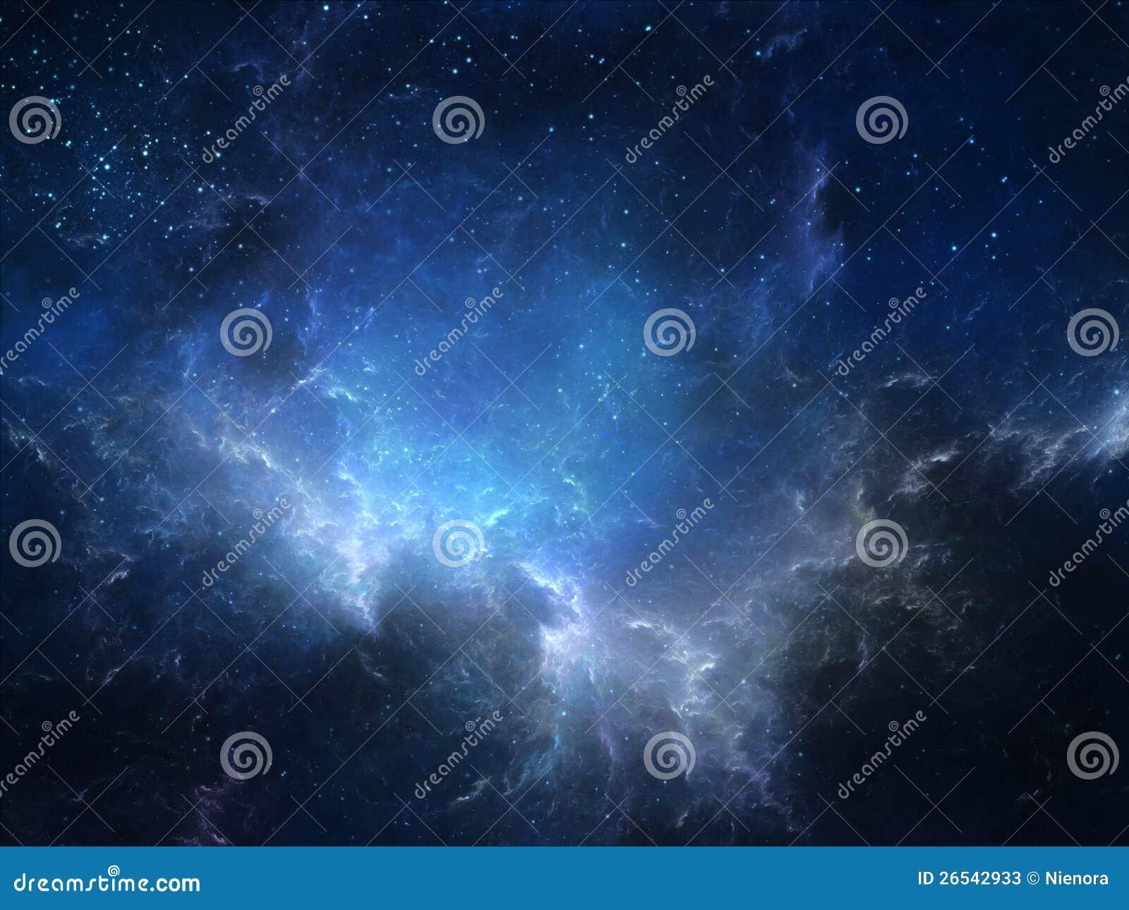 外层空间星云