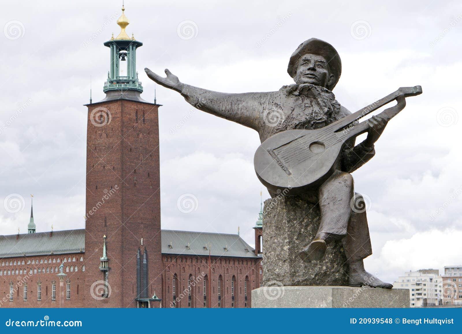 外推雕象斯德哥尔摩taubes