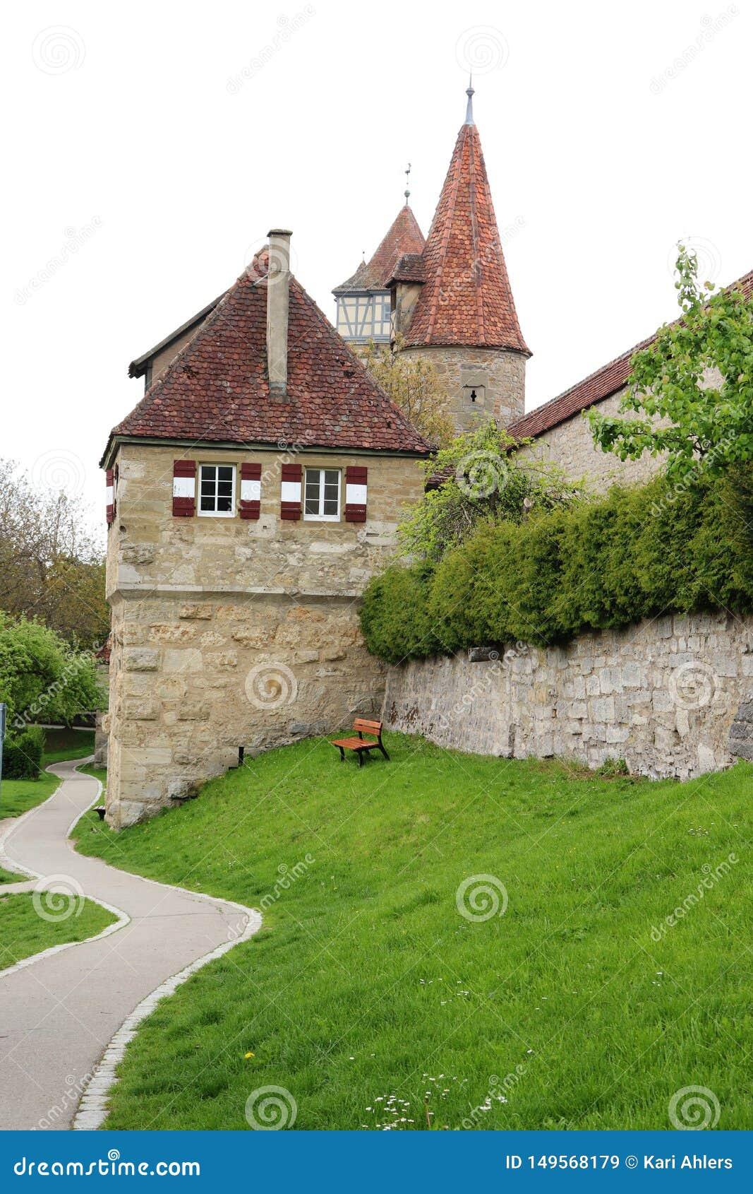 外部罗滕堡ob der陶伯,德国