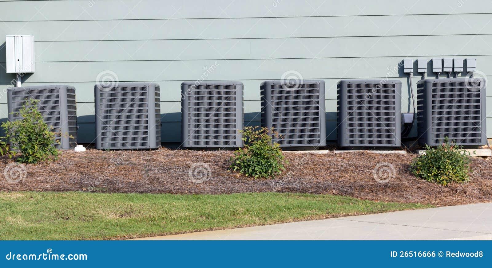 多个商业空调装置