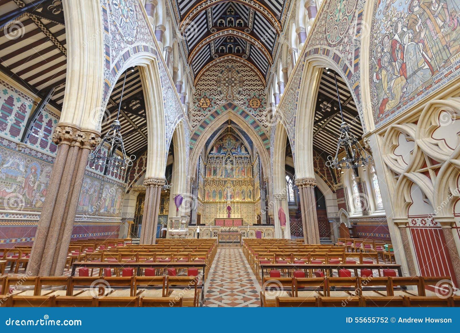 维多利亚女王时代的教会内部