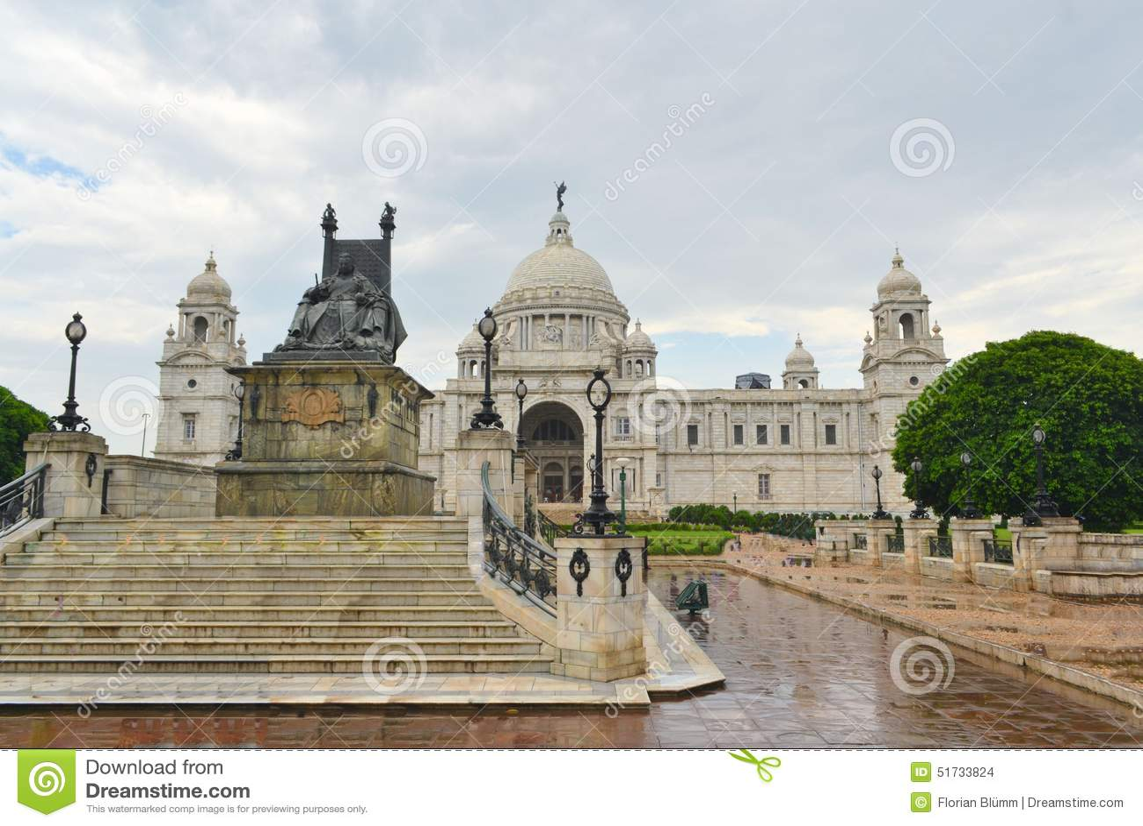 维多利亚纪念品在加尔各答印度