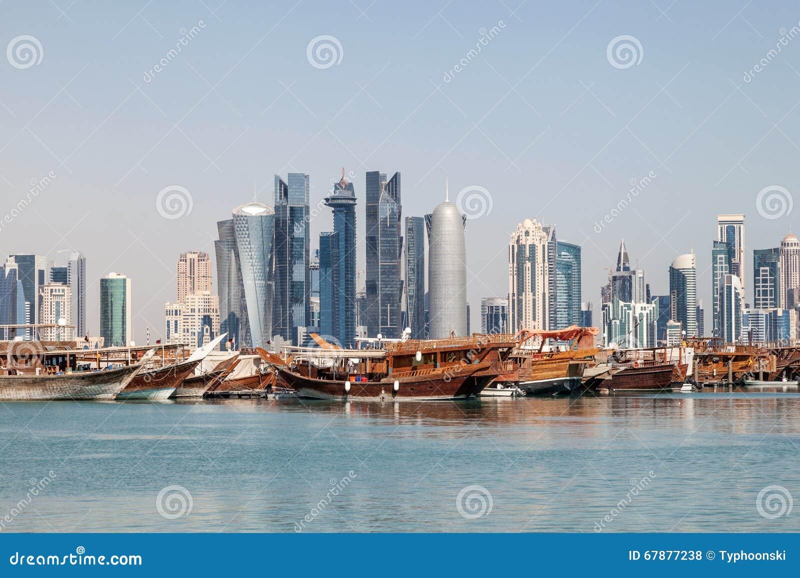 多哈市地平线,卡塔尔