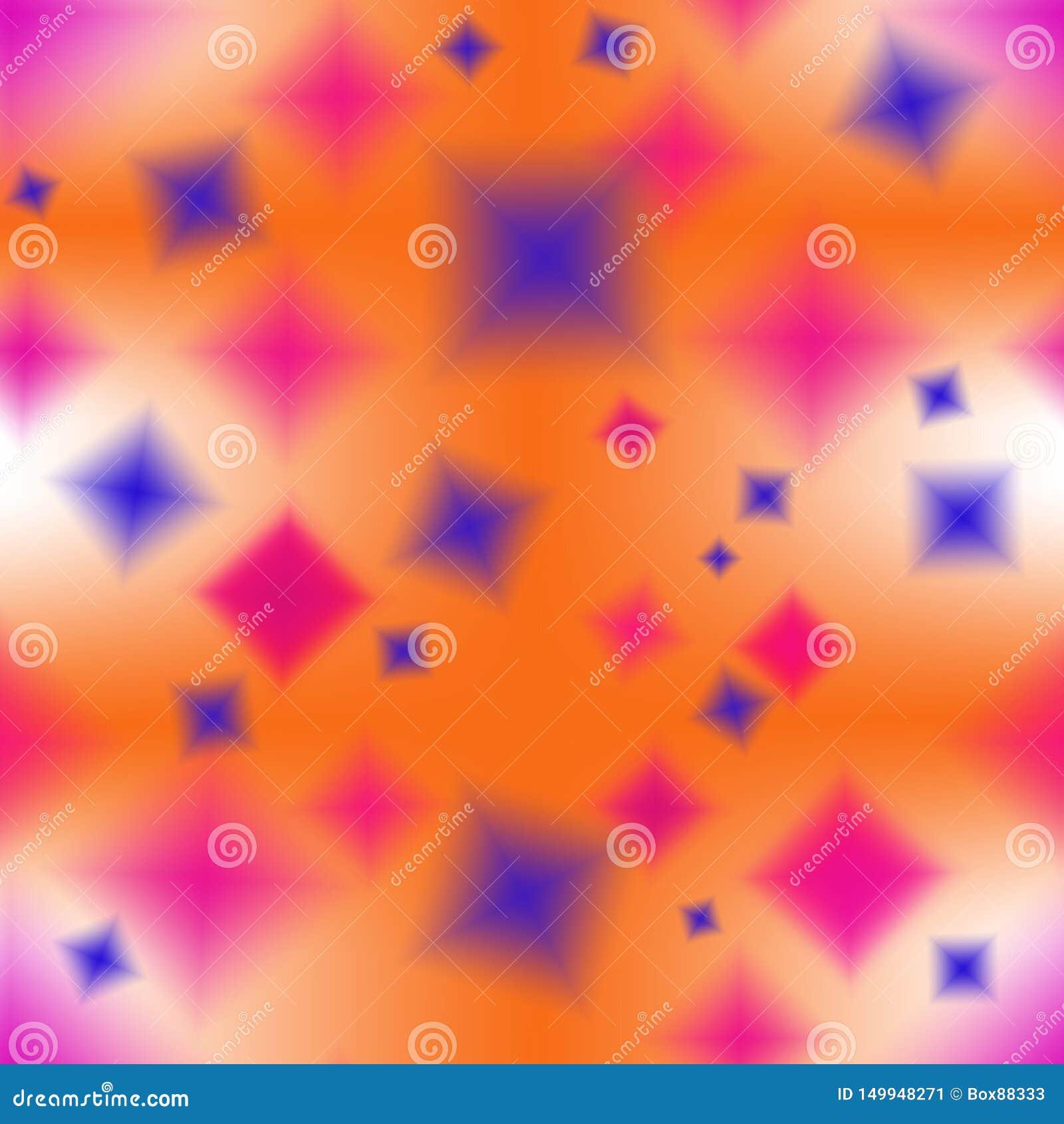 多彩多姿的模糊的元素的无缝的抽象样式
