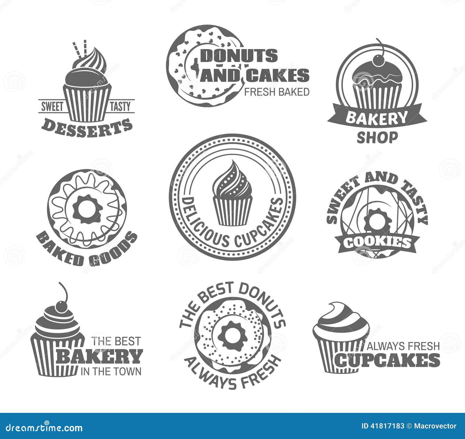 多福饼杯形蛋糕标签