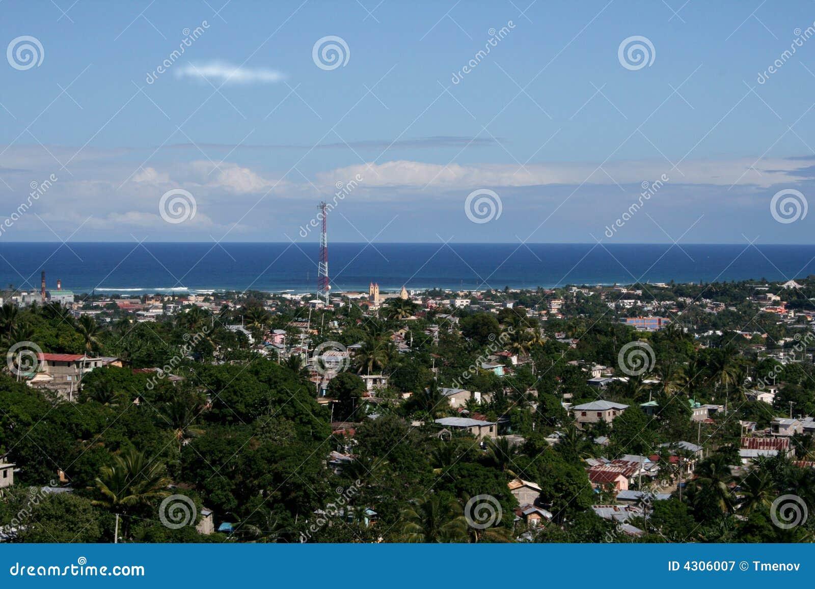 多米尼加共和国的柏拉图puerto共和国