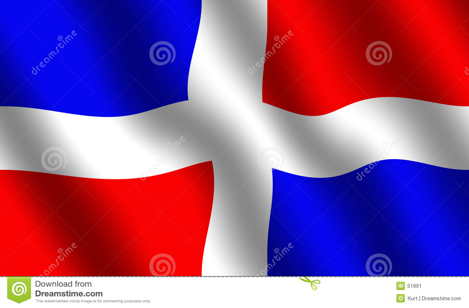 多米尼加共和国的标志共和国
