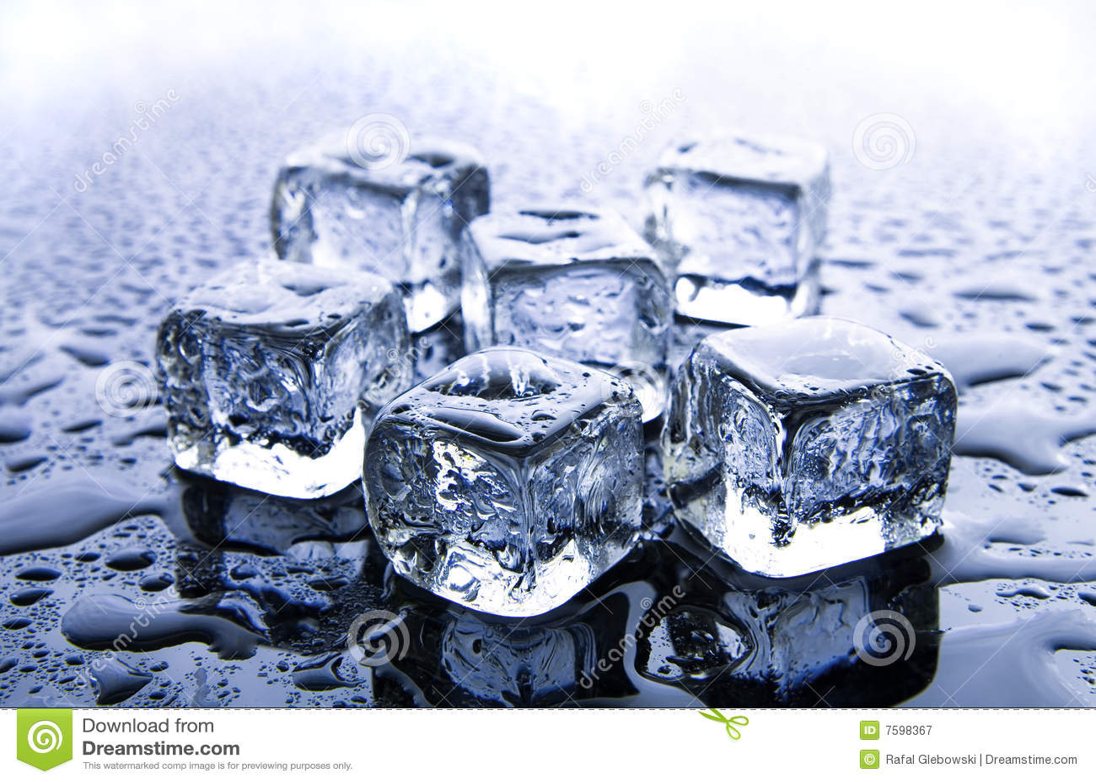多维数据集冰熔化
