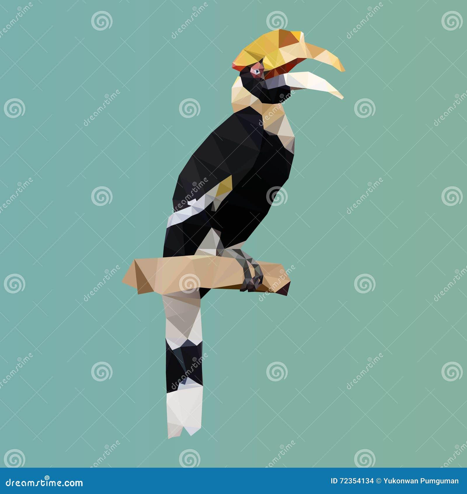多角形犀牛犀鸟,多角形三角鸟,传染媒介