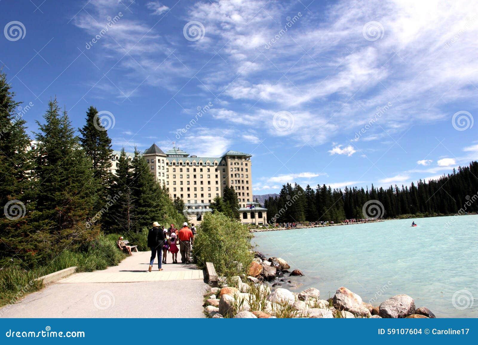 大别墅fairmont Lake Louise
