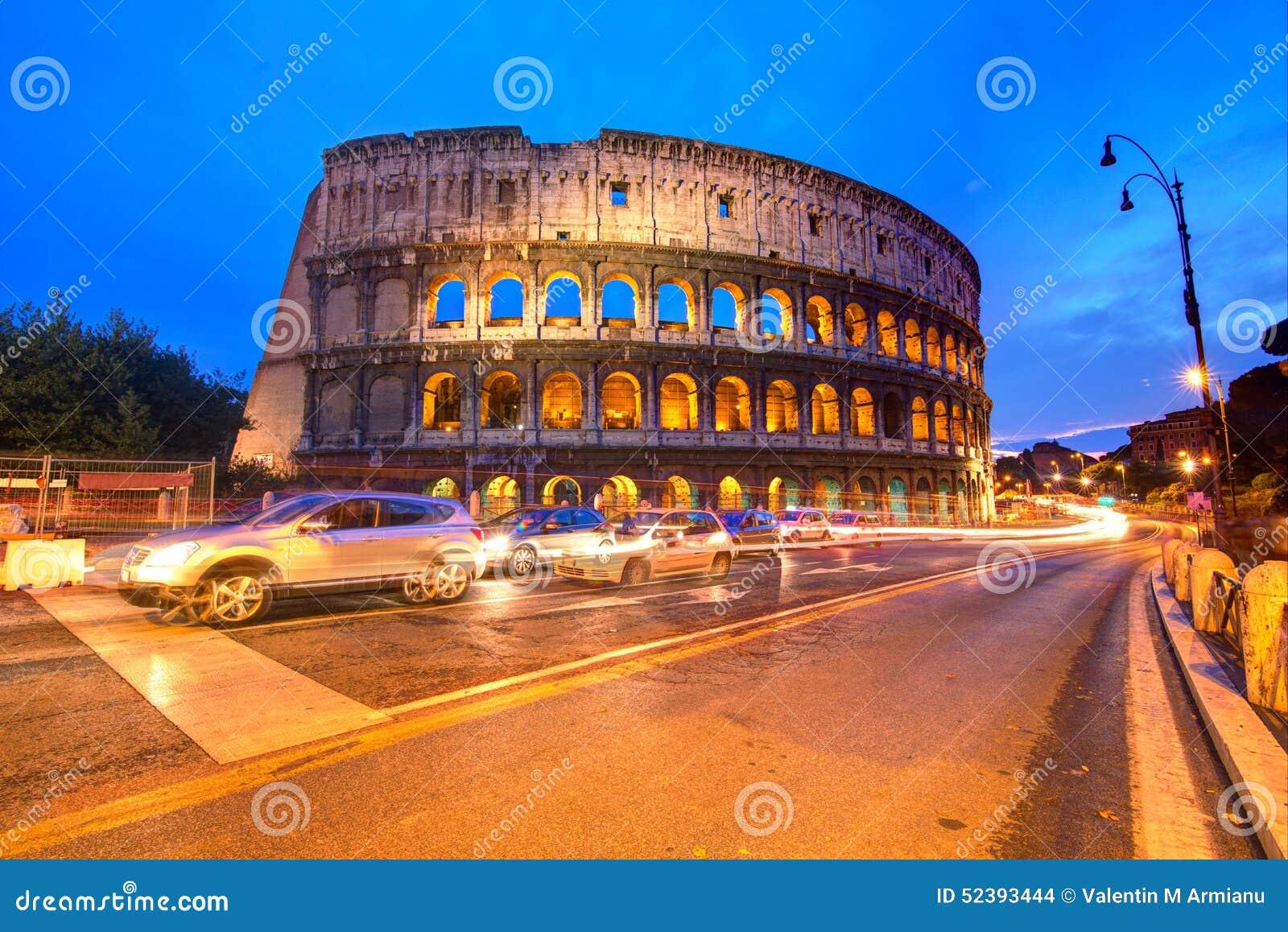 大剧场意大利晚上罗马