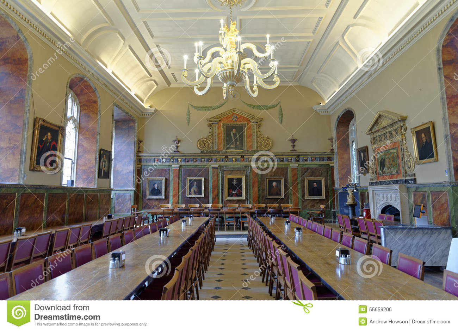 大厅,基督教会学院,牛津