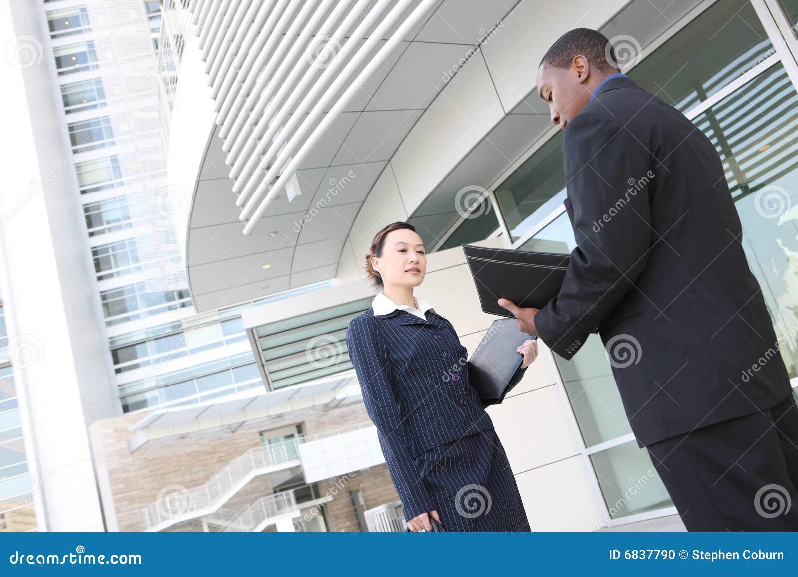 大厦企业不同的办公室小组