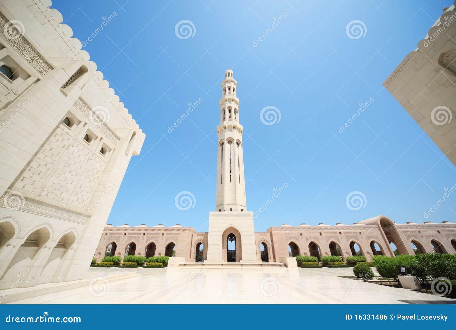 大厦全部里面清真寺阿曼