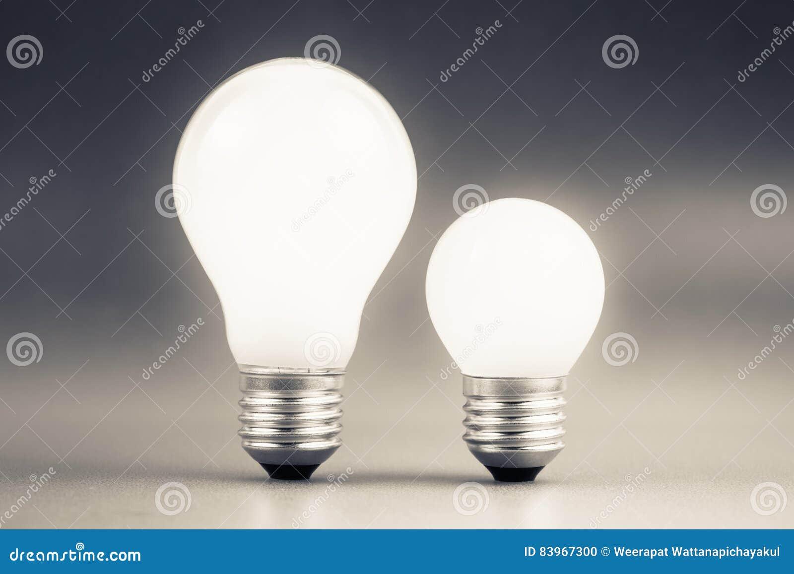 大和小电灯泡