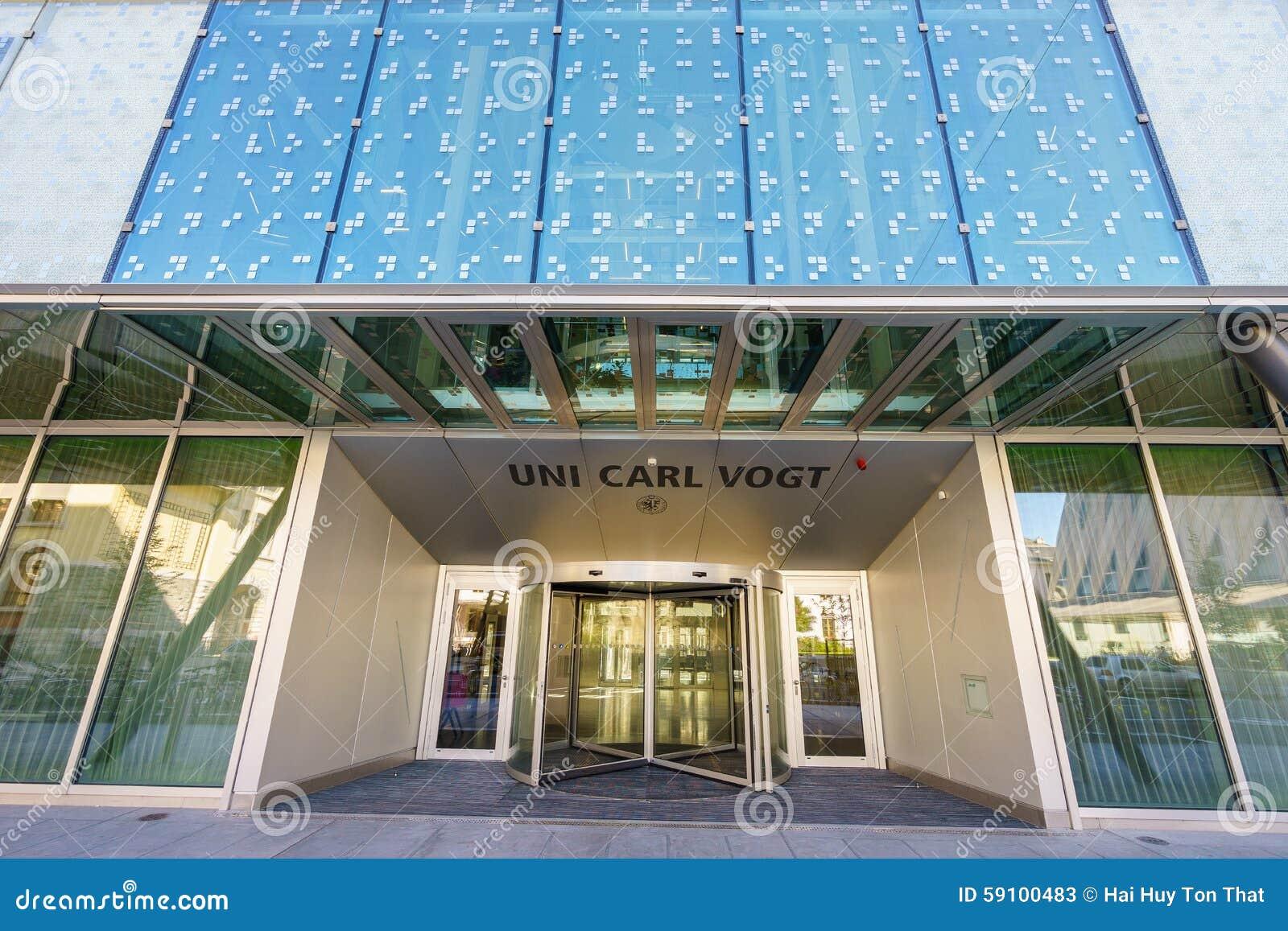 大学卡尔福格特在日内瓦,瑞士