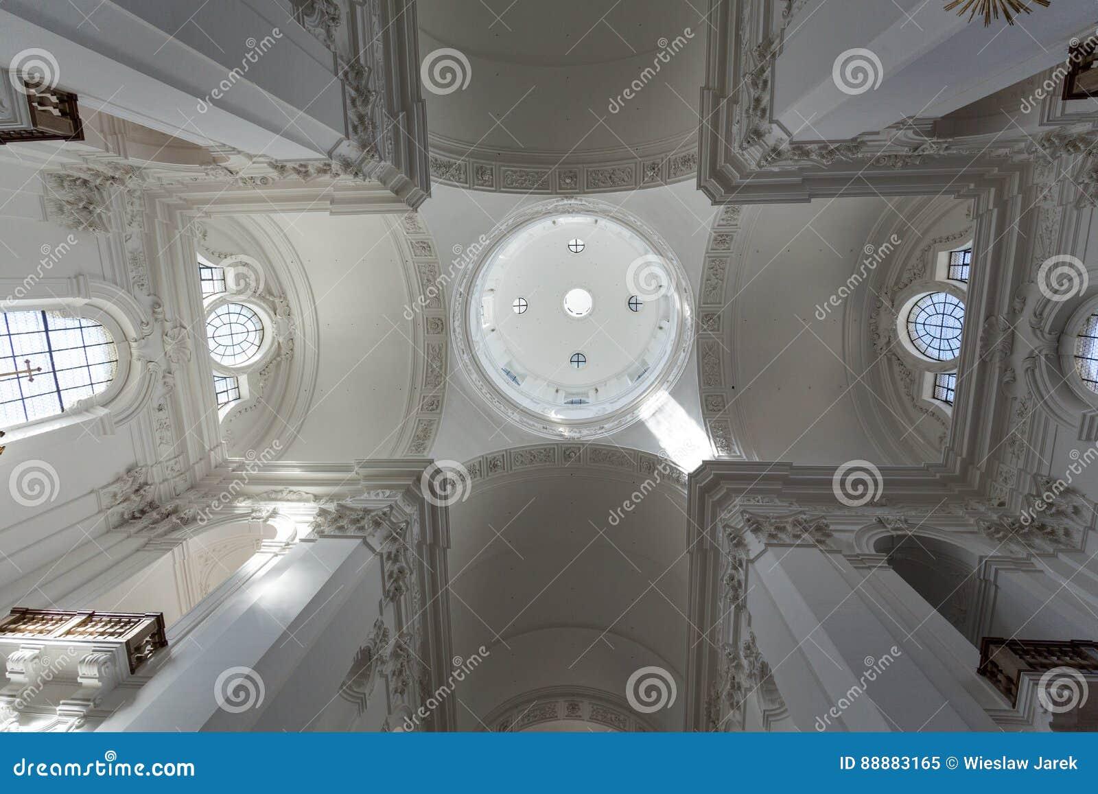 大学或大学教会内部在萨尔茨堡,