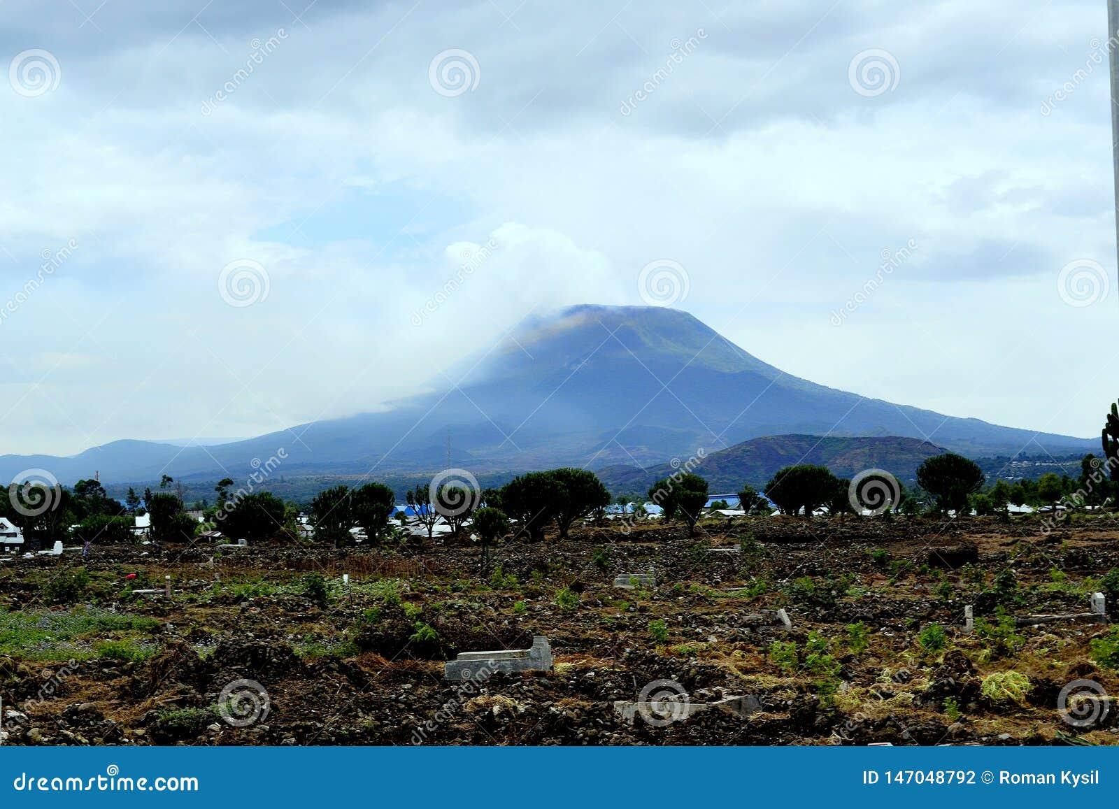 大山在戈马,刚果民主共和国