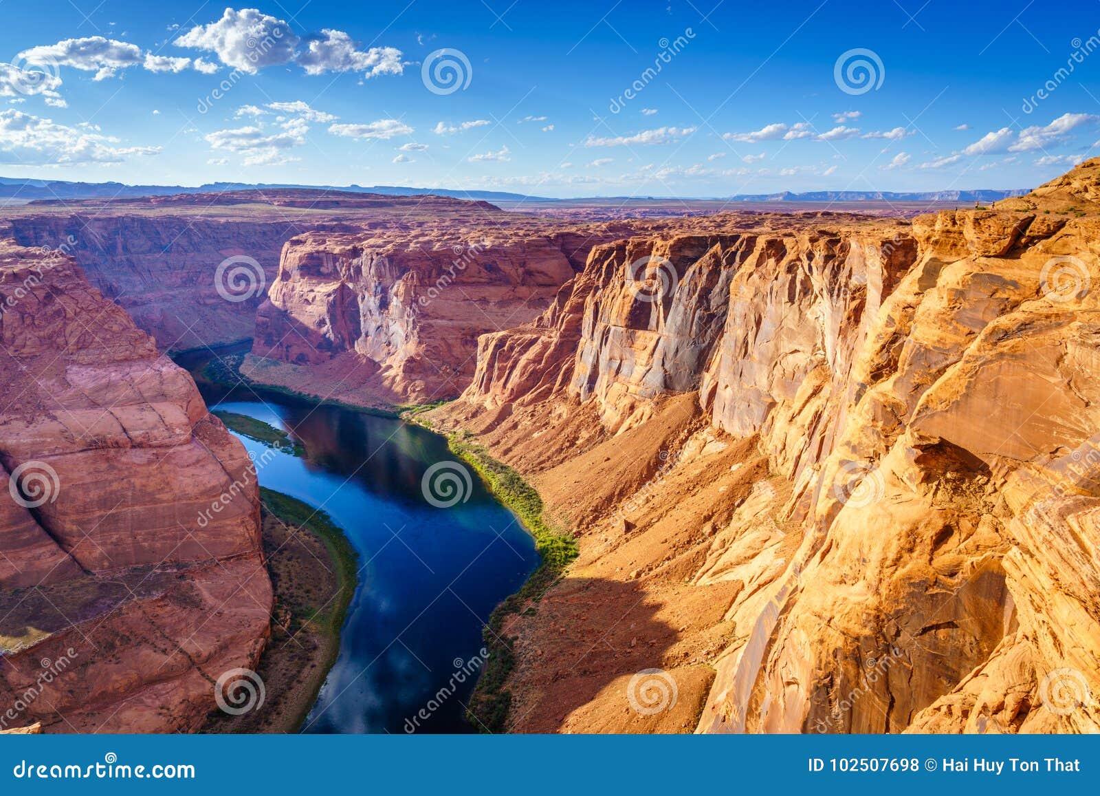 大峡谷和科罗拉多河,位于页,亚利桑那,美国