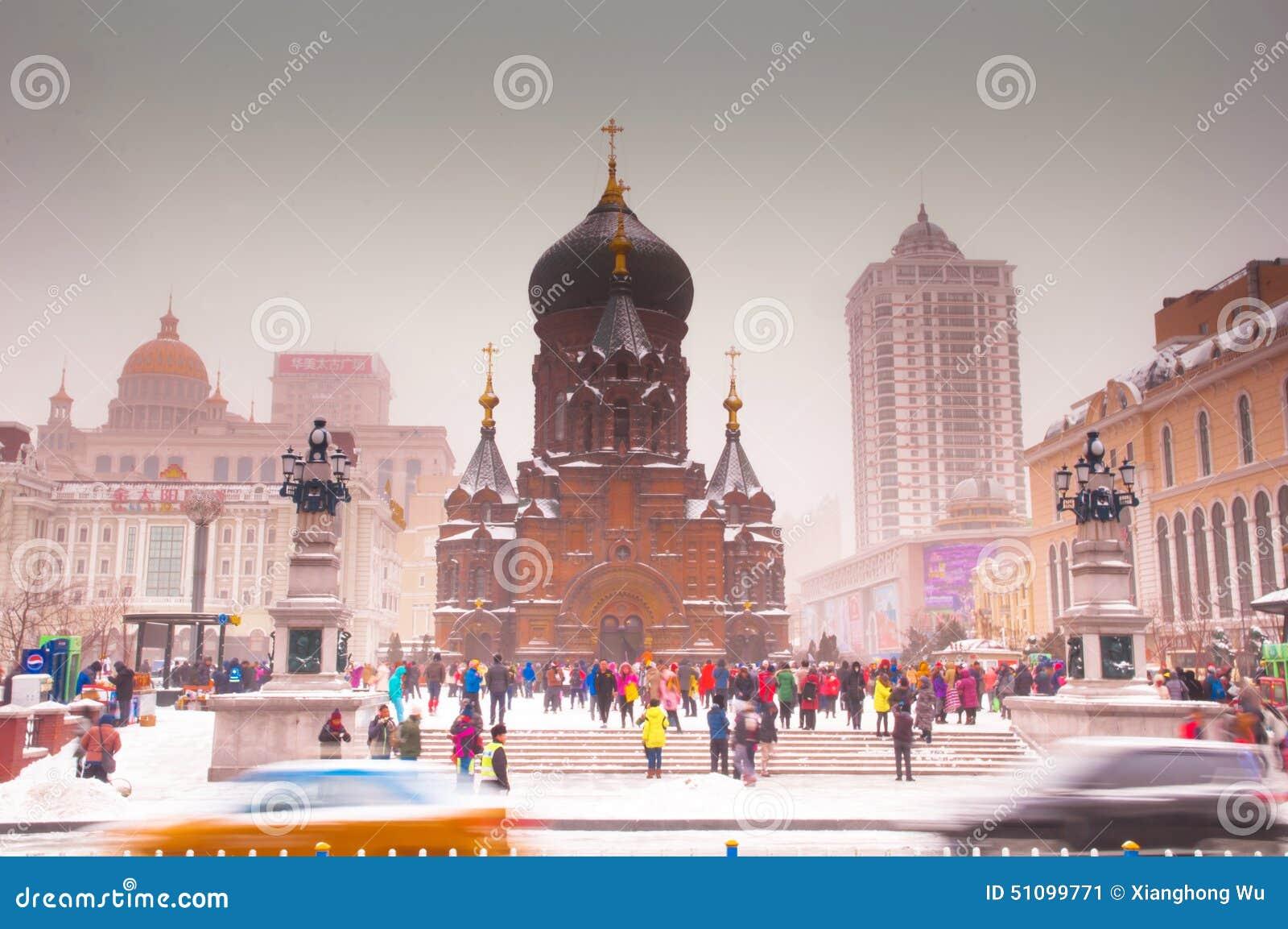 大教堂和人们