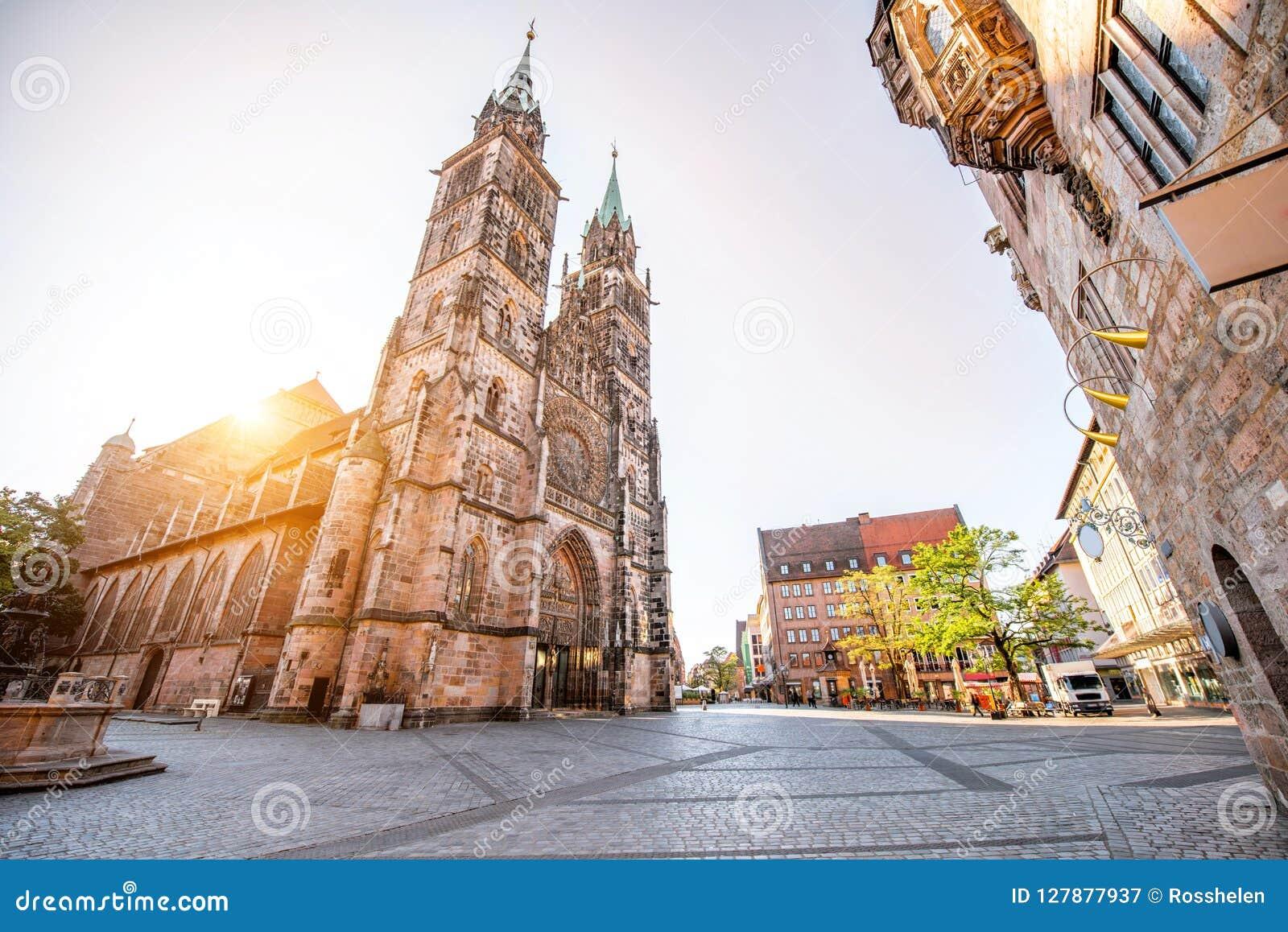 大教堂在Nurnberg,德国