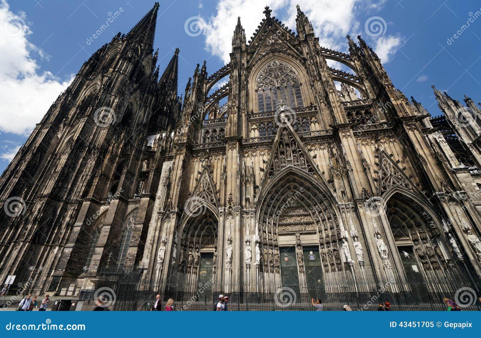 大教堂科隆香水著名德国遗产国际地标站点科教文组织世界 编辑类图片