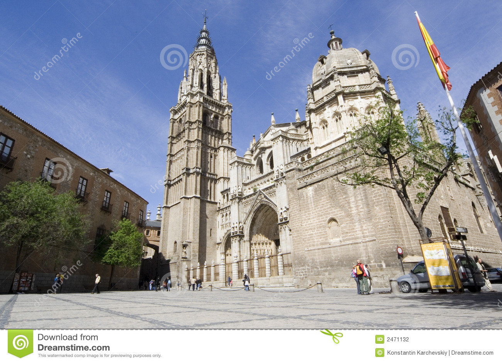 大教堂西班牙托莱多