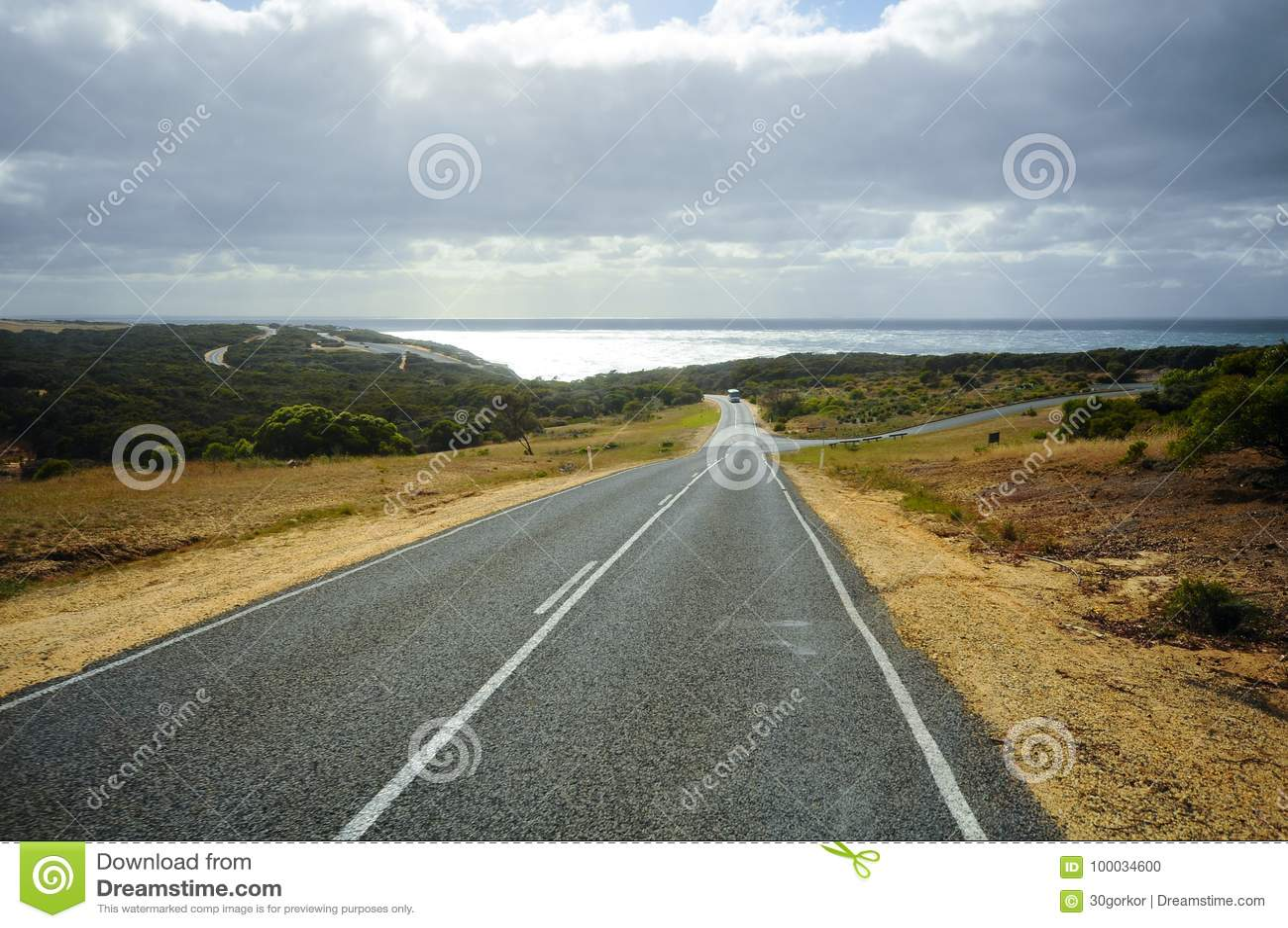 大洋路路线在澳大利亚