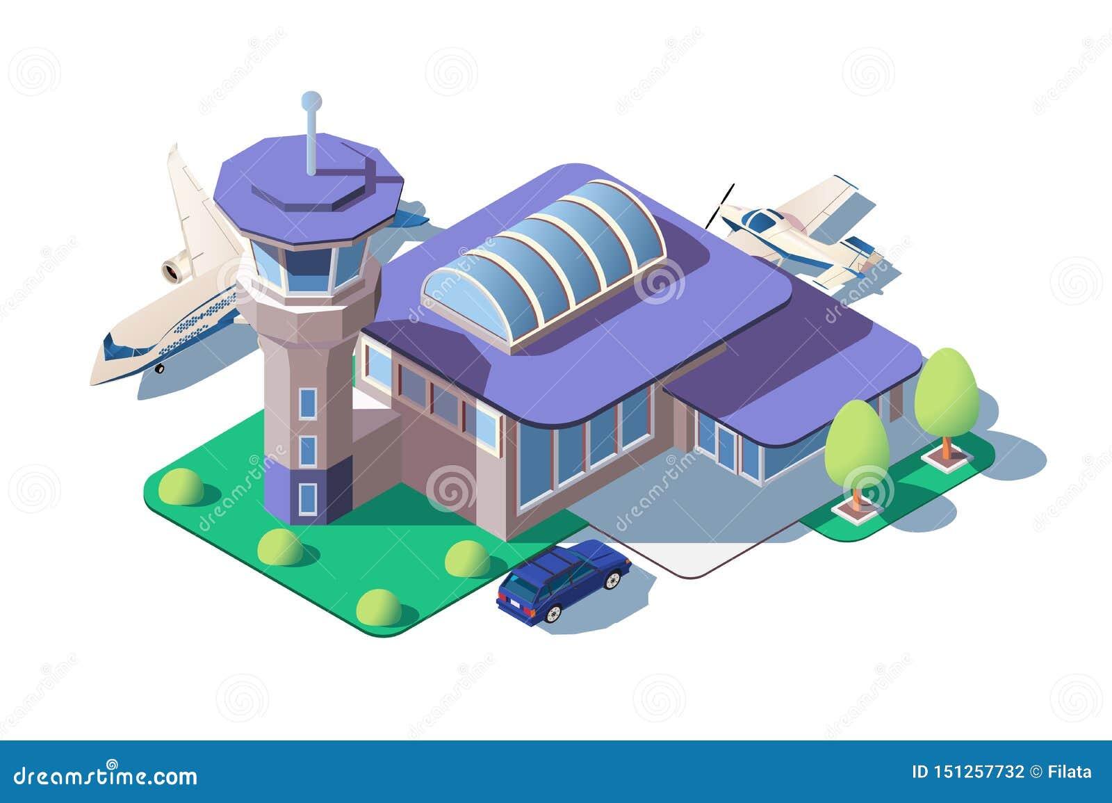大现代机场