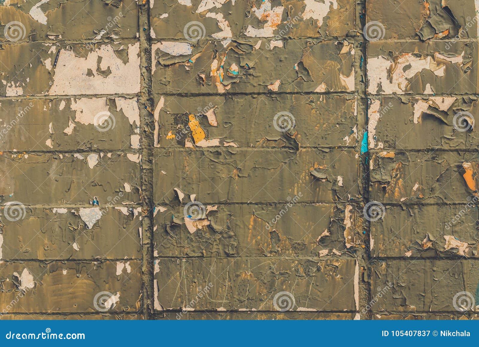大红褐色的老破旧的砖墙正方形背景纹理 减速火箭的都市Brickwall框架墙纸 脏的织地不很细黏土砖
