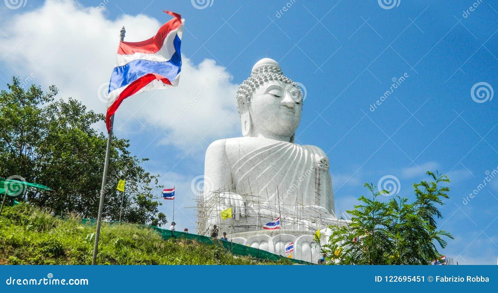 大菩萨雕象,普吉岛,泰国