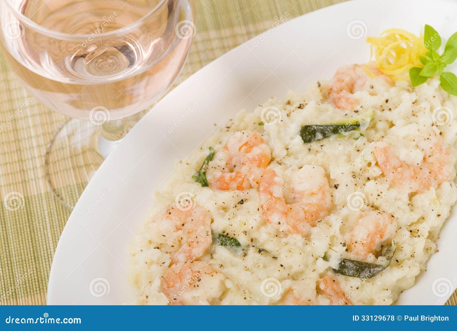 大虾意大利煨饭比亚恩科图片