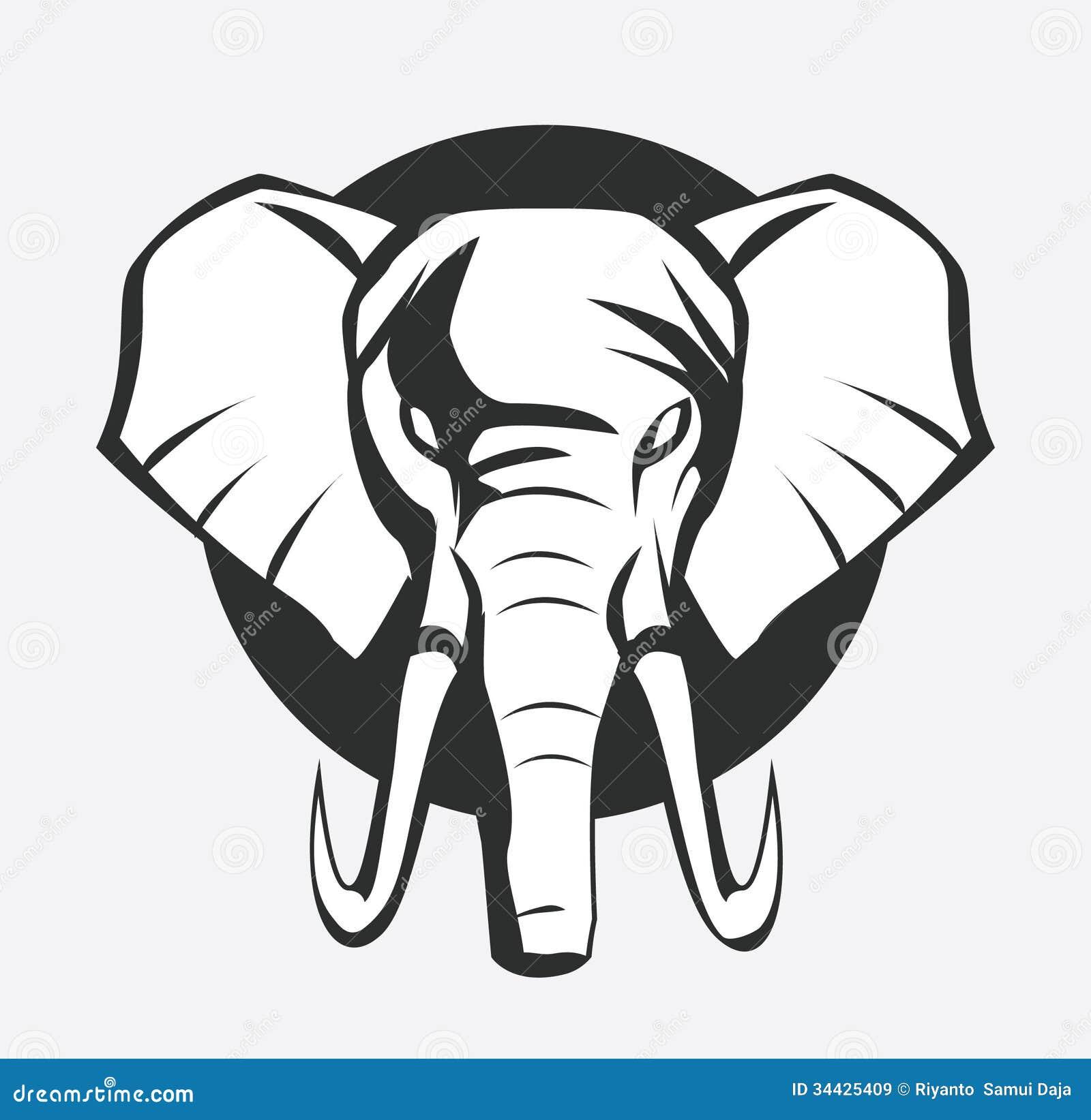 大象标志图片