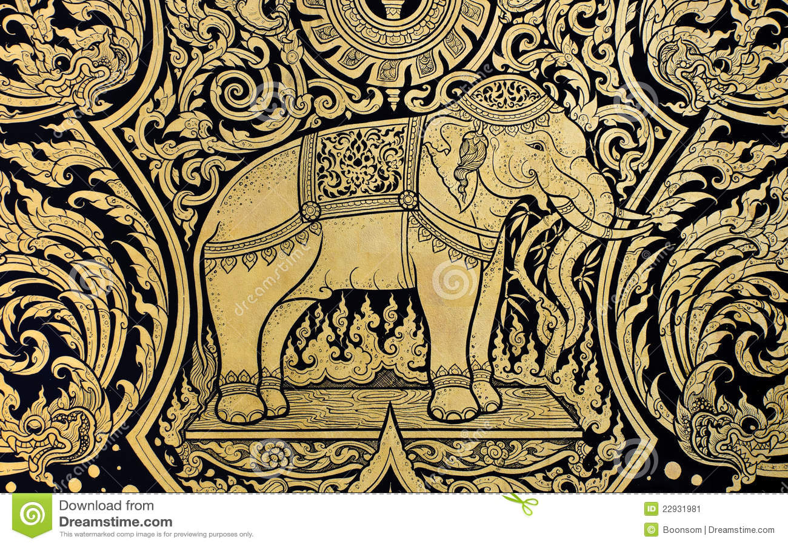 download 大象绘画 库存图片.图片