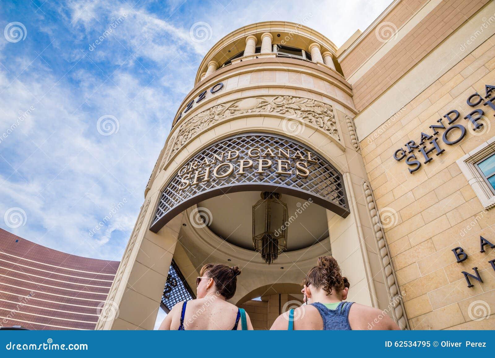 大运河商店在Palazzo和威尼斯式旅馆