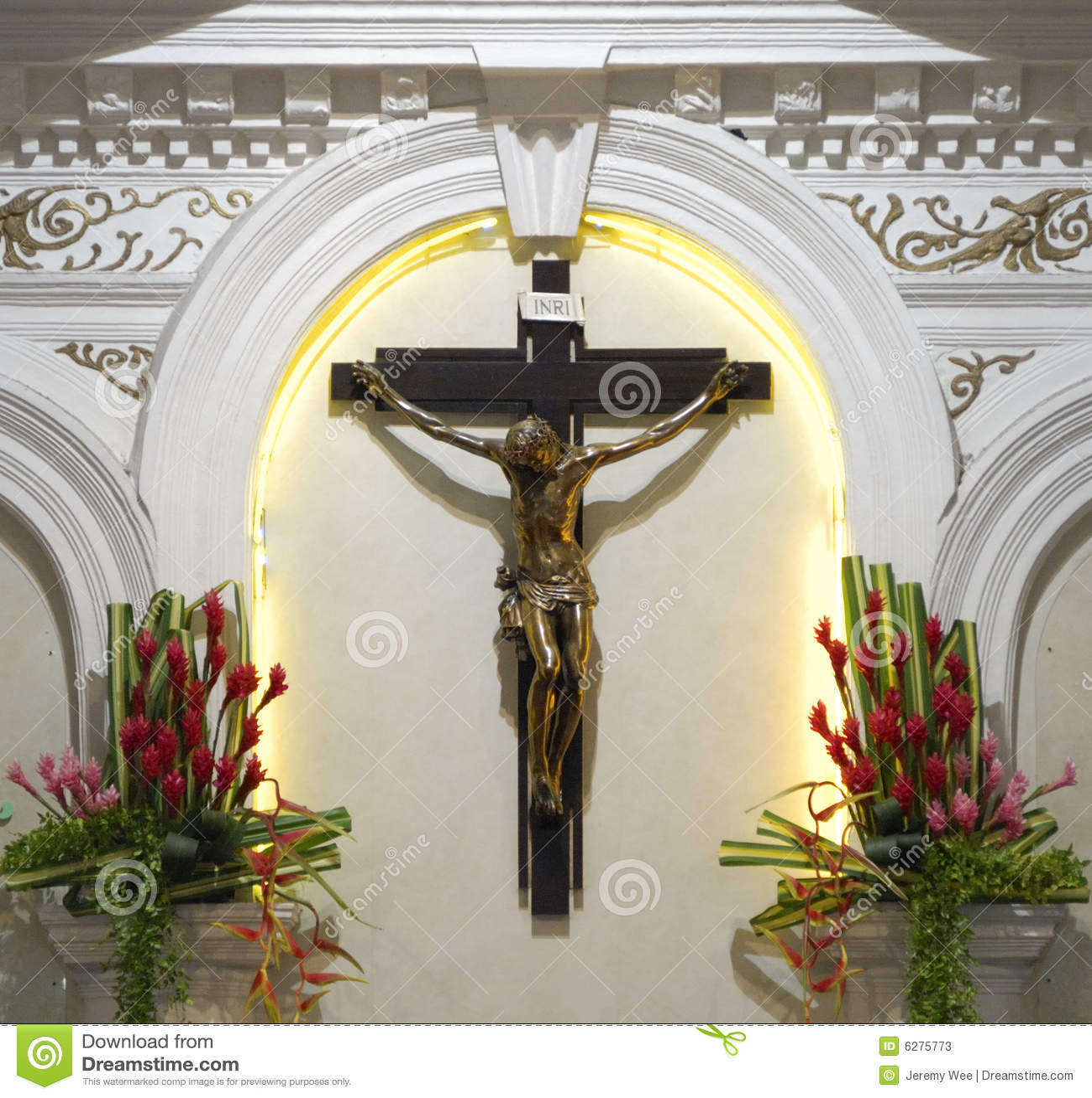 天主教教会耶稣受难象