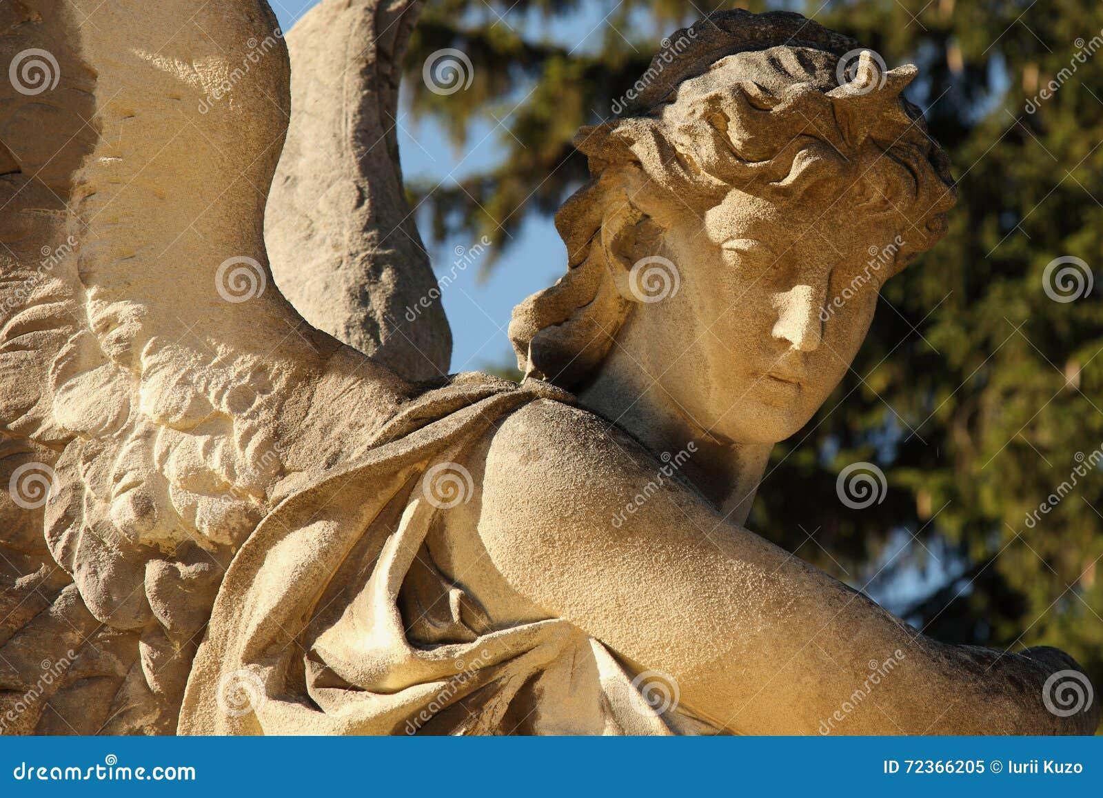 天使死亡(Lychakivs公墓,利沃夫州,乌克兰)