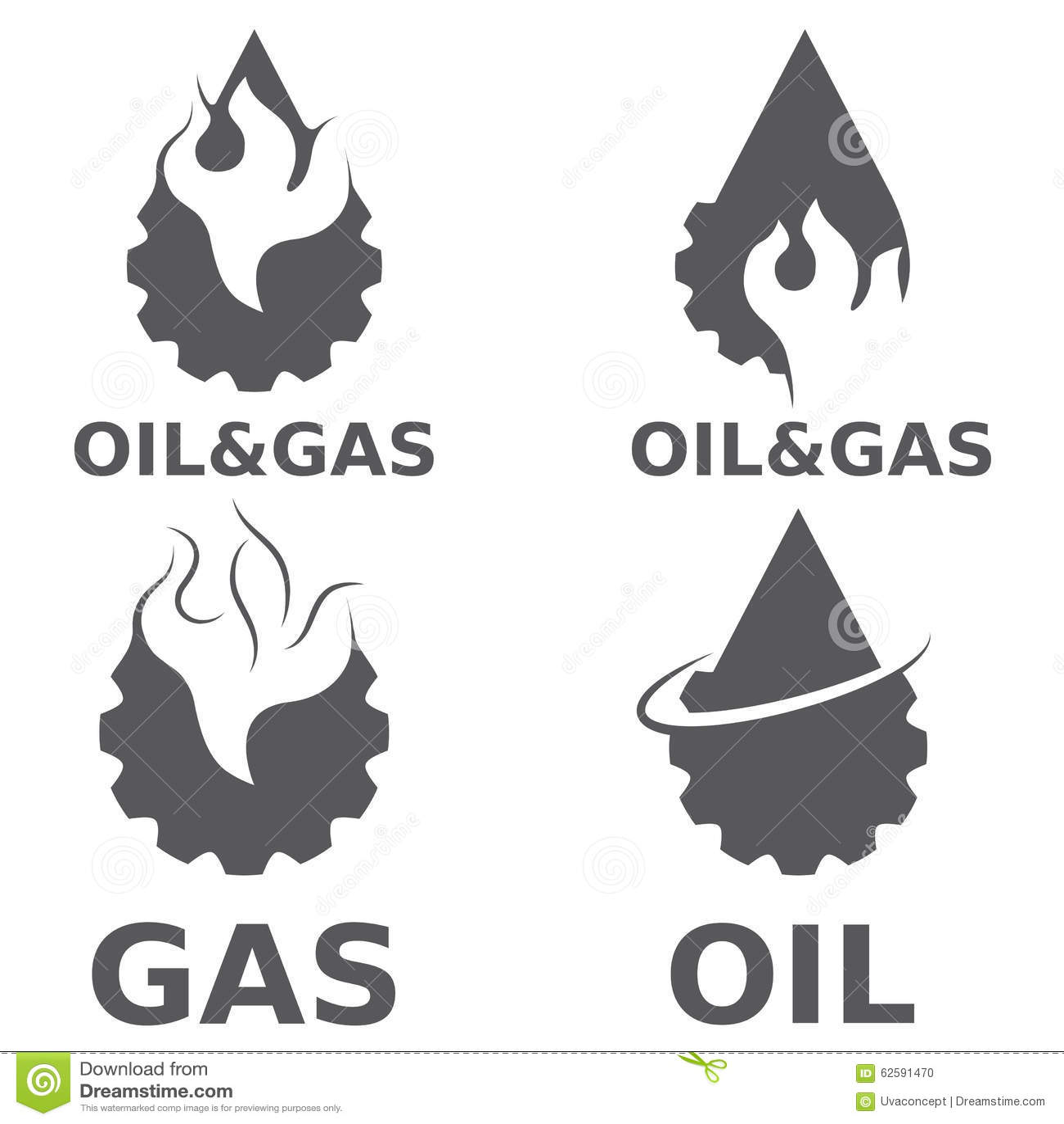 天然气产业传染媒介设计元素