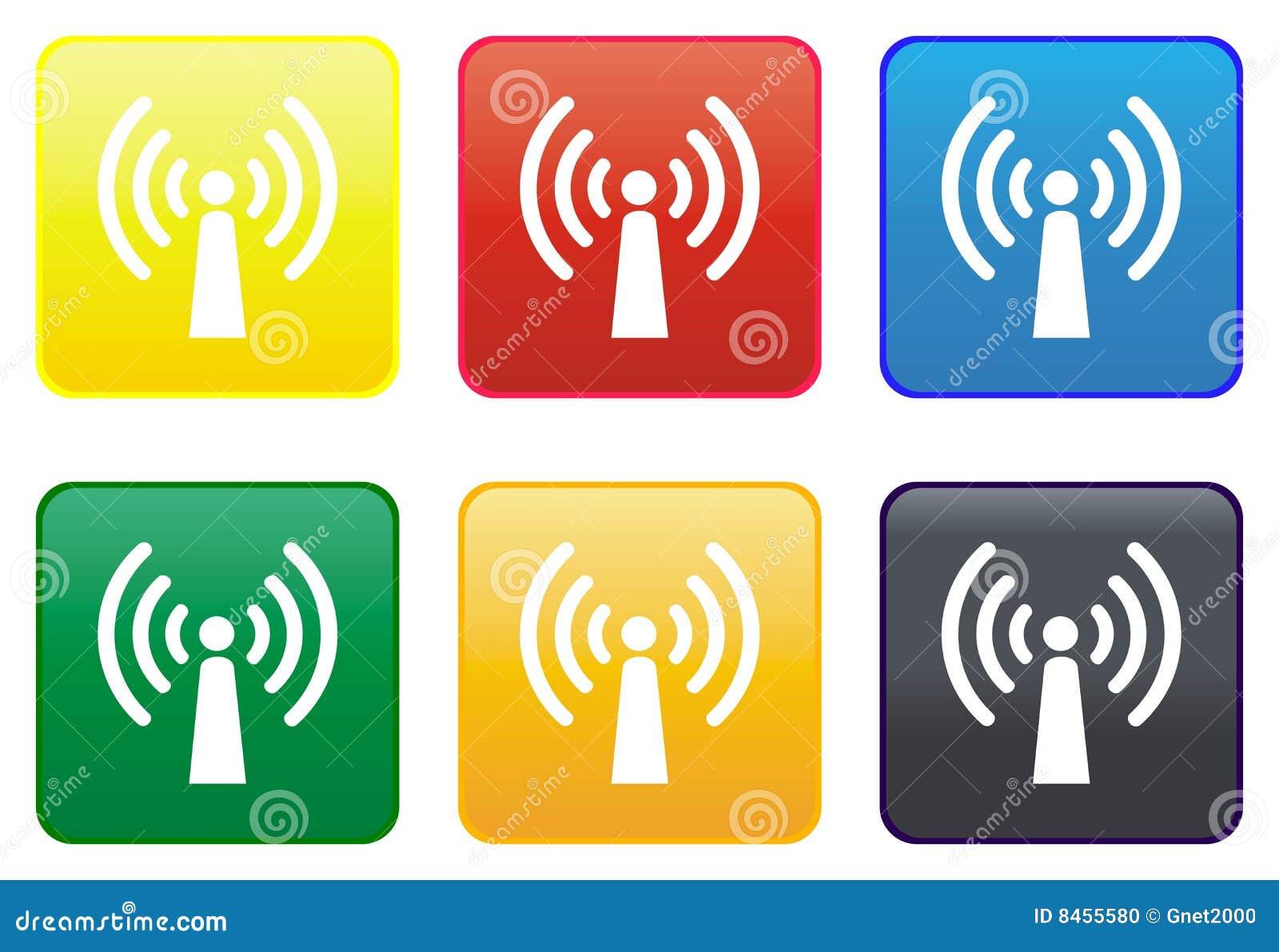 天线按钮收音机万维网