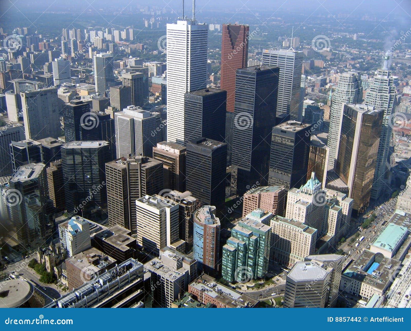 天线街市多伦多视图