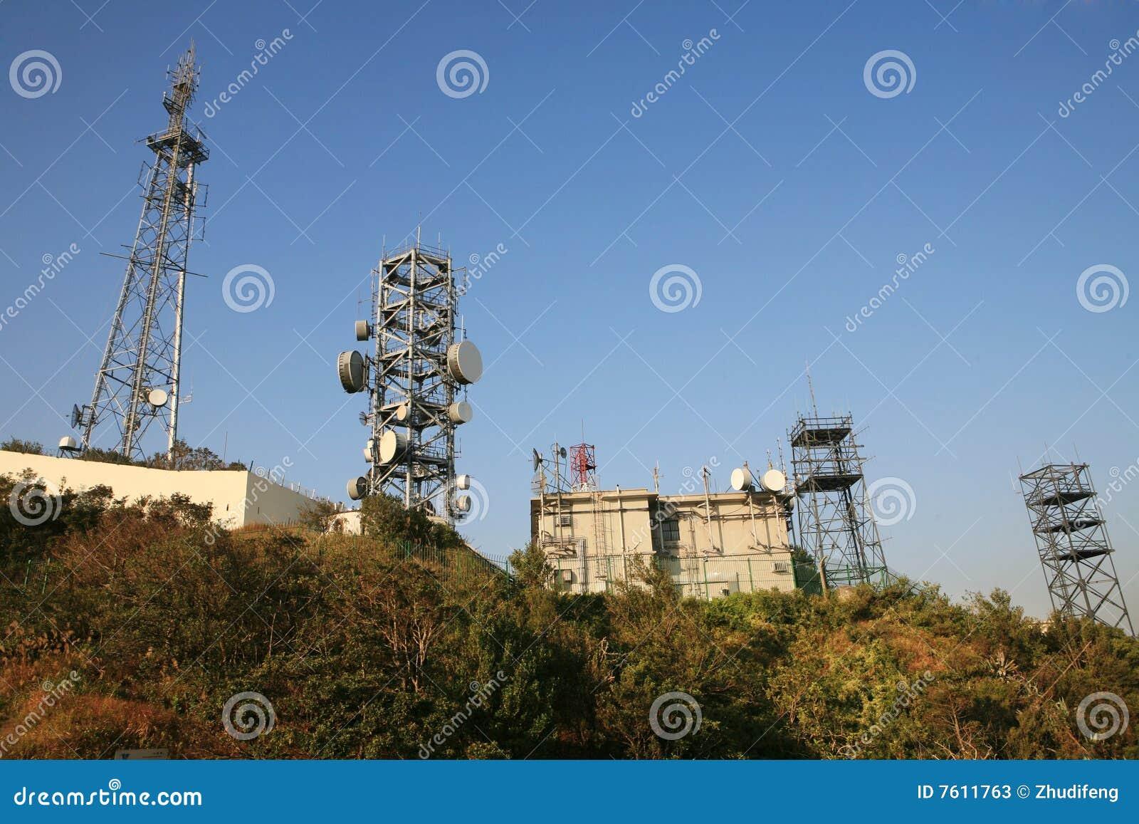 天线通讯台