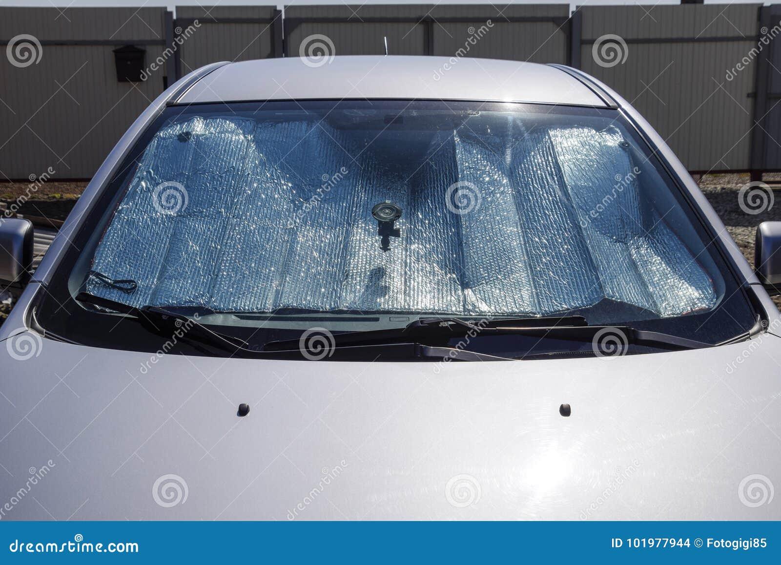 太阳反射器挡风玻璃 汽车盘区的保护免受direc