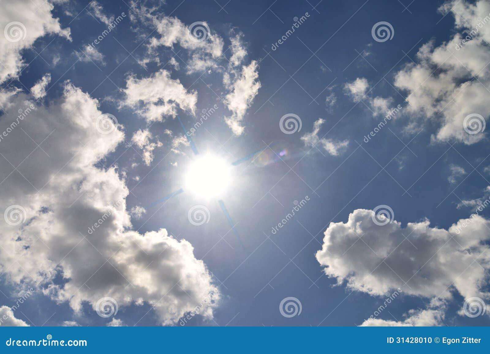 太阳和云彩