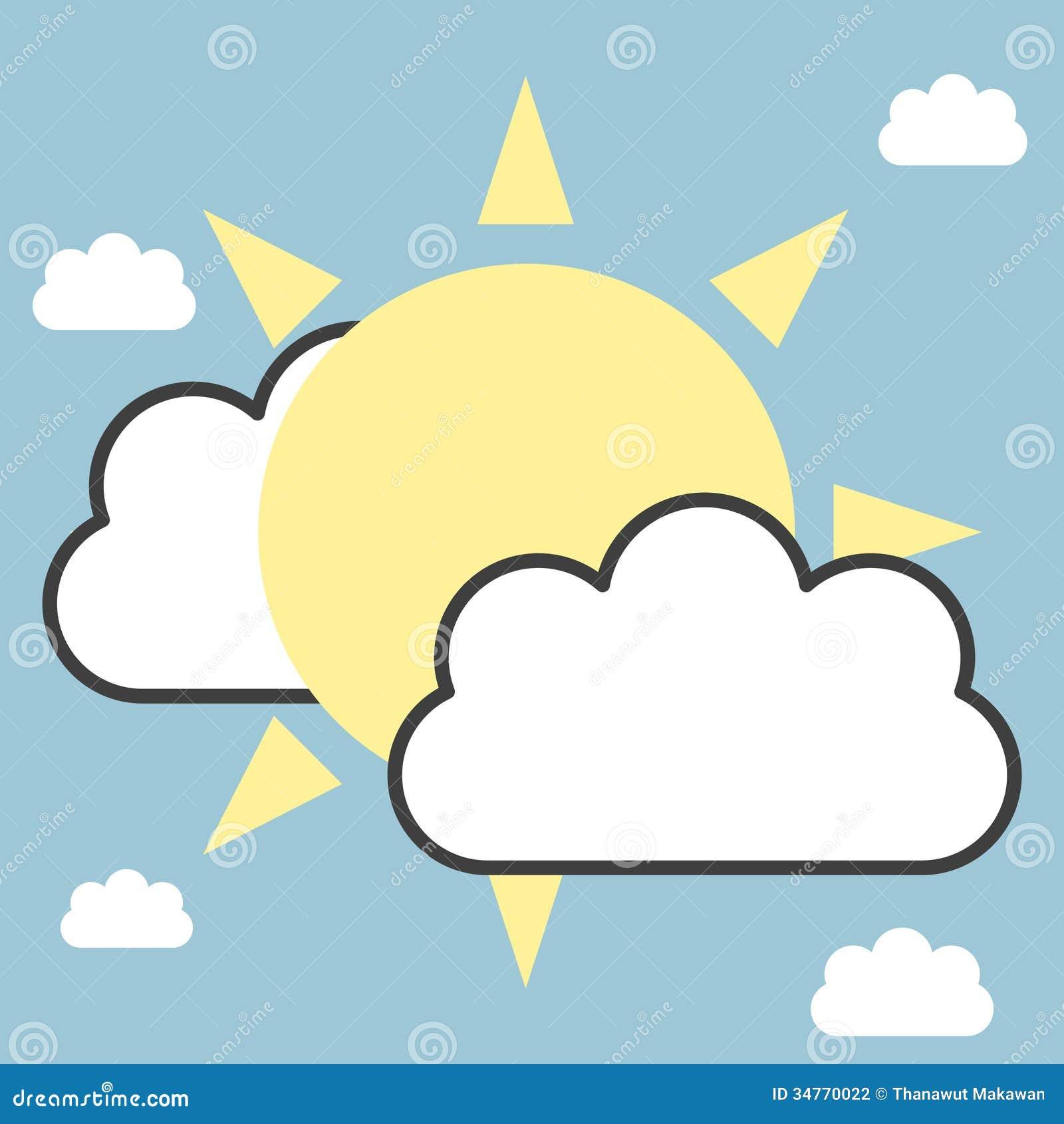 太阳和云彩 图库摄影 - 图片: 34770022图片