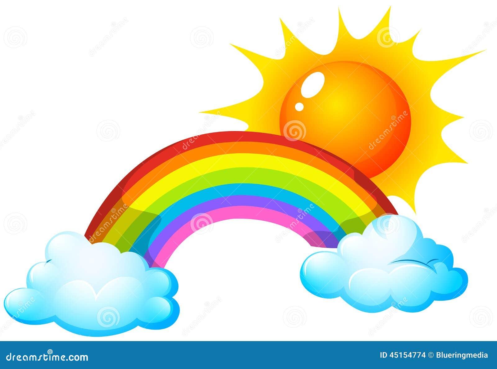 太阳和彩虹