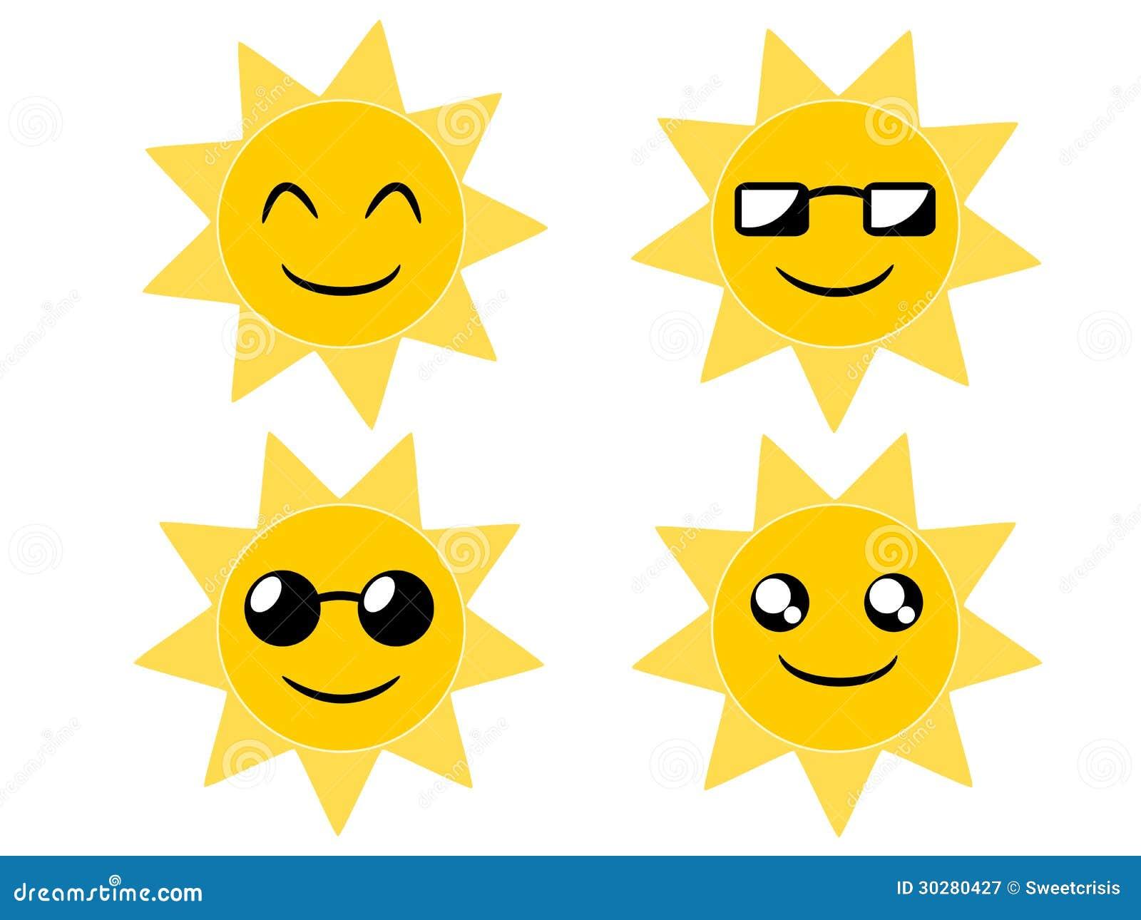 太阳动画片例证