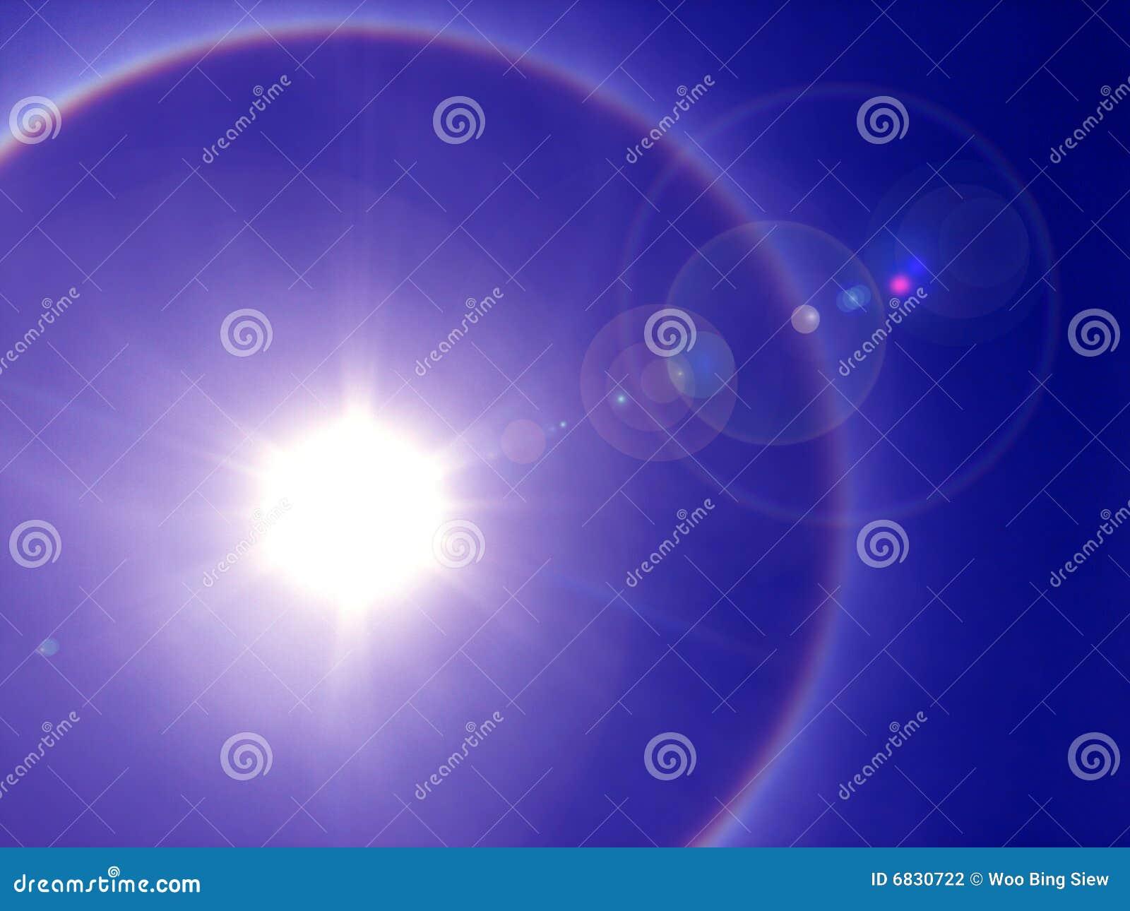 太阳的光晕