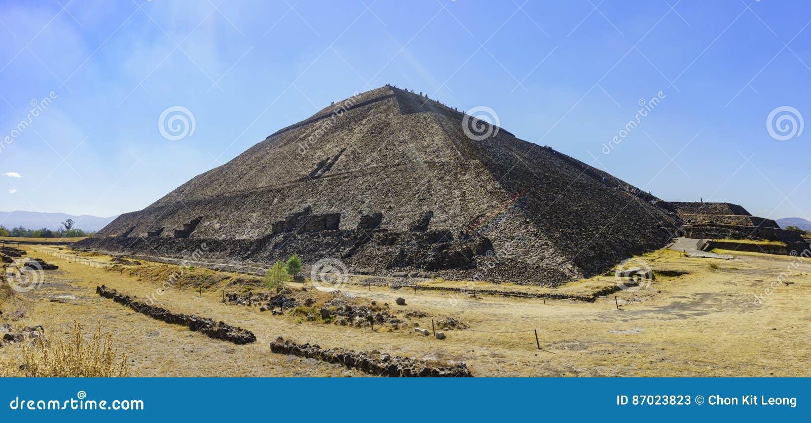 太阳的著名金字塔